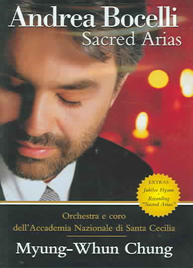 SACRED ARIAS BY BOCELLI,ANDREA (DVD)